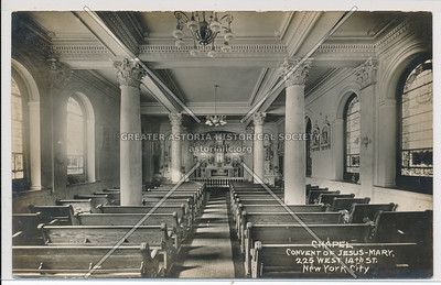 Convent of Jesus-Mary, 225 W 14th St, NY Chapel