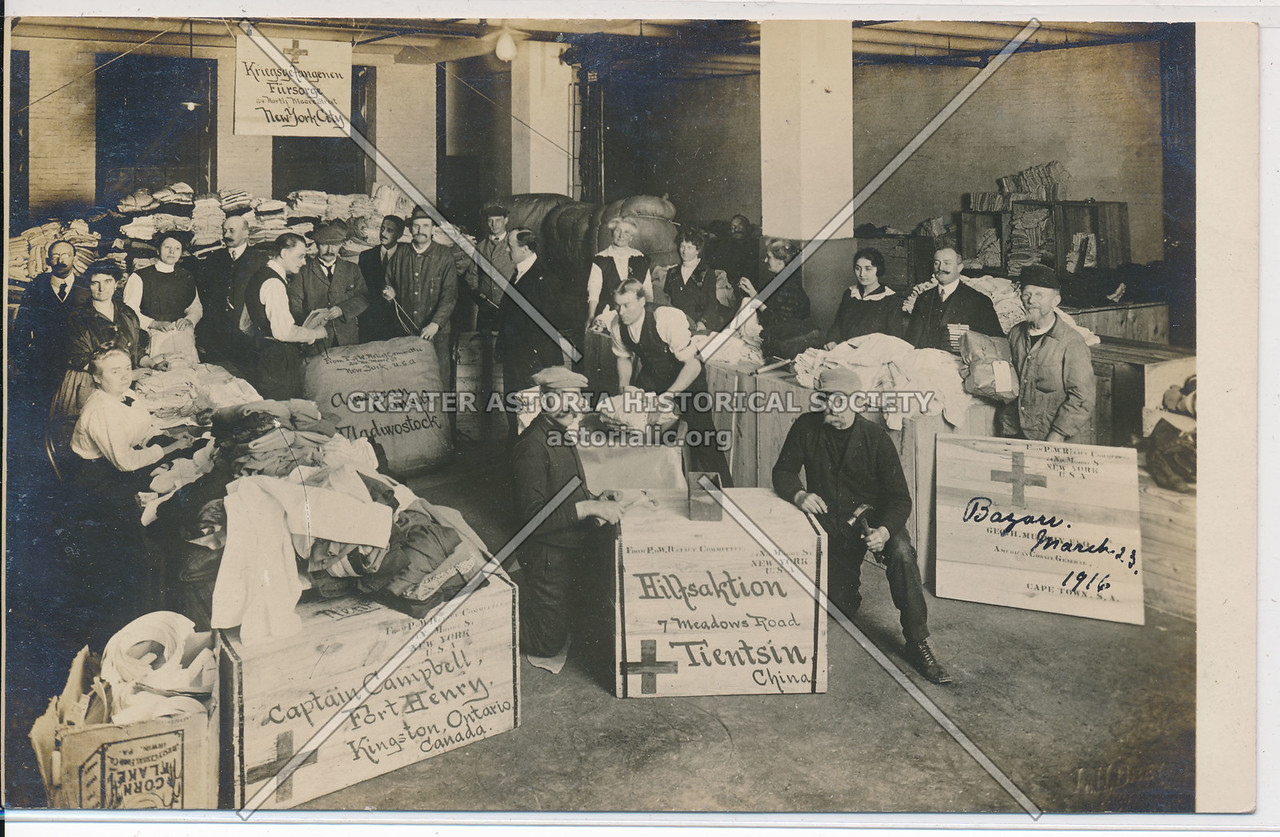 POW Relief Committee, 24 N Moore St, NY