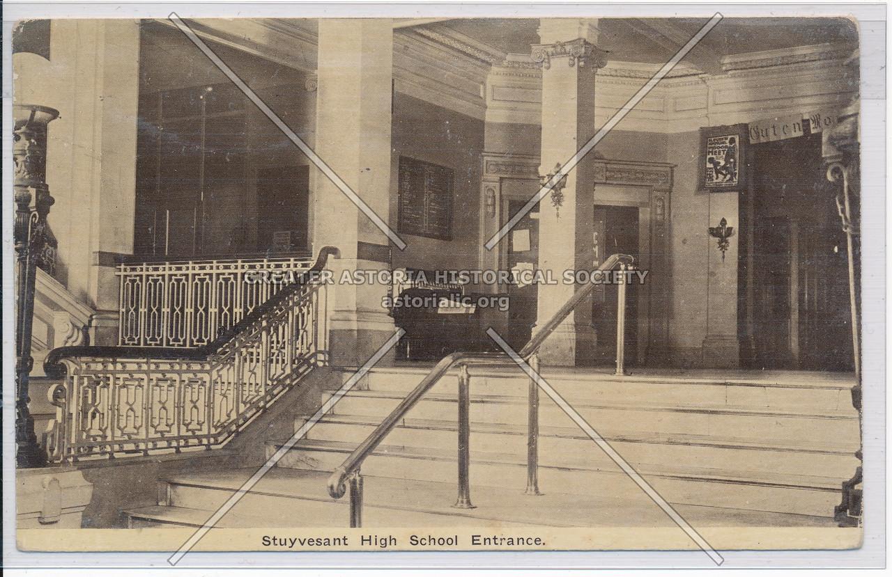 Stuyvesant High School Entrance
