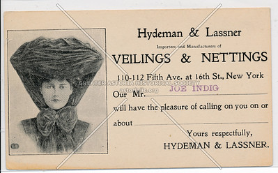 Hydeman & Lassner, 110 5th Ave @ 16th St, NY