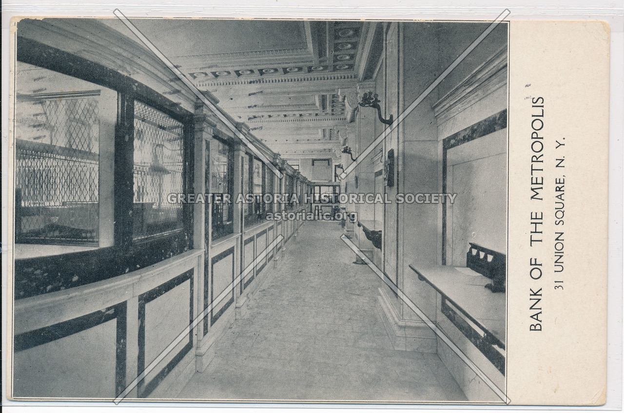 Bank Of The Metropolis, 31 Union Sq, NY