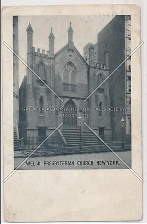 Welsh Presbyterian Church, 225 E 13 St? St Mary R C Chruch Byzantine