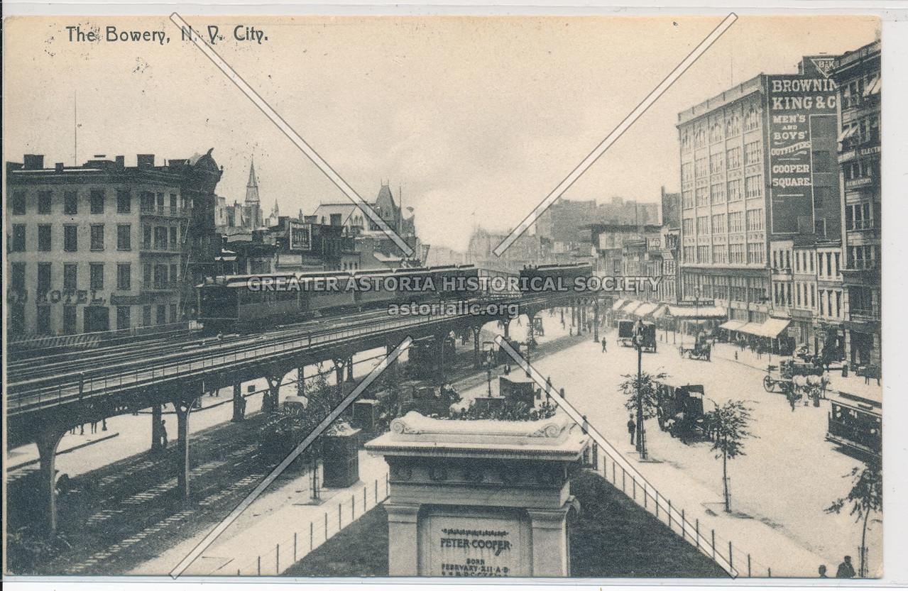 The Bowery, NY