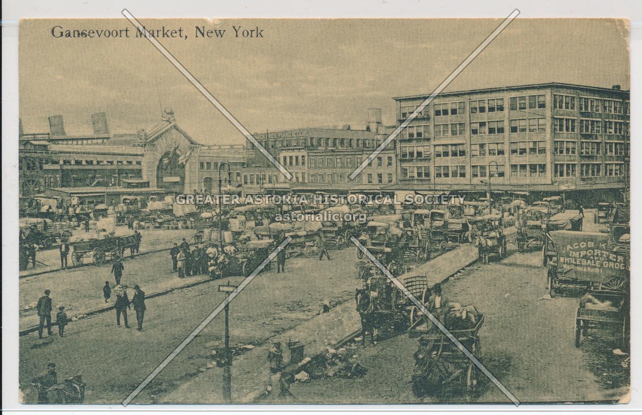 Gansevoort Market, New York