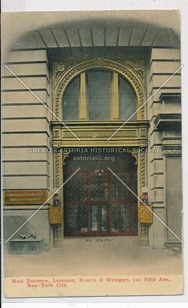 Leumann, Boesch & Weingart, 122 Fifth Ave, NY