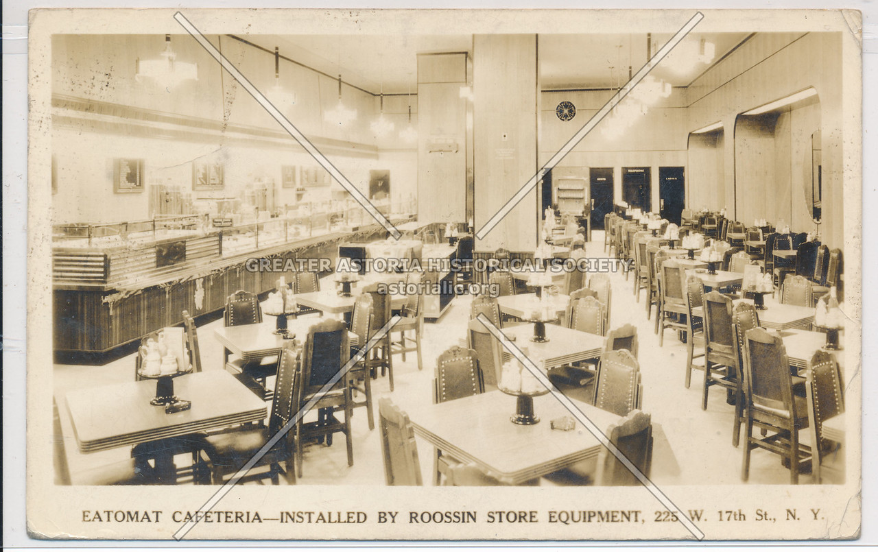 Eatomat Cafeteria - Roosin Store Equipment - 225 W 17th St, NY