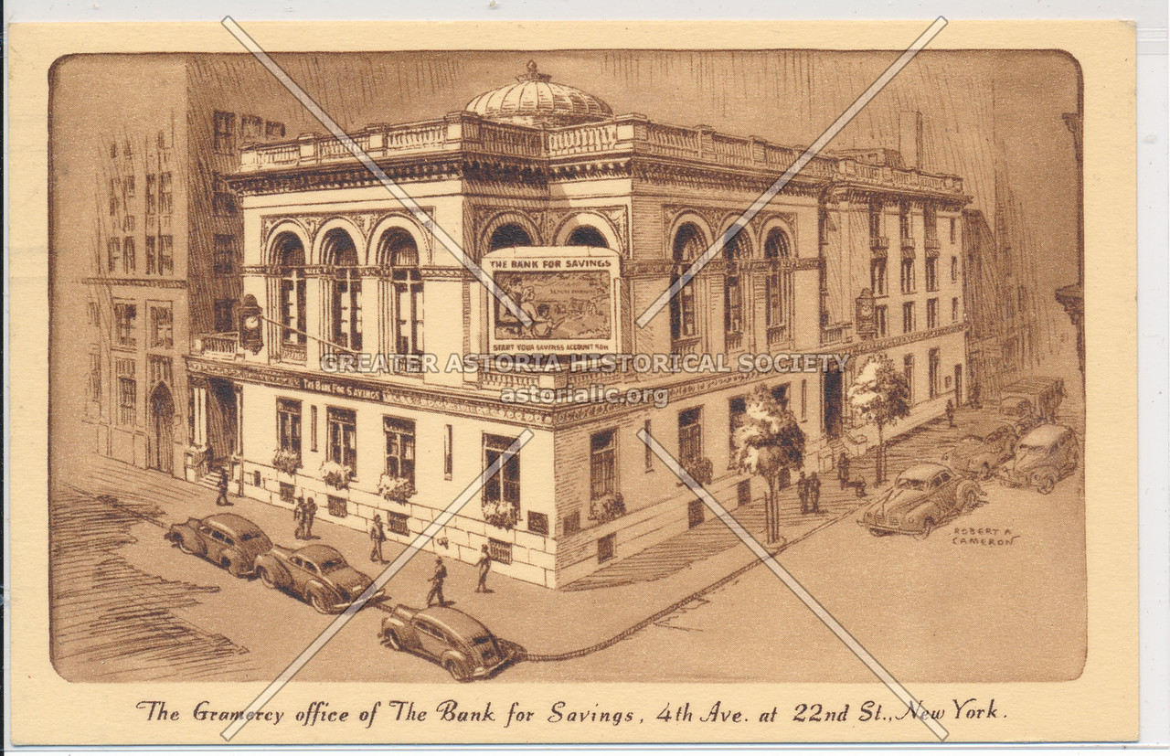 The Bank for Savings, 4th Ave & 22nd St, NY