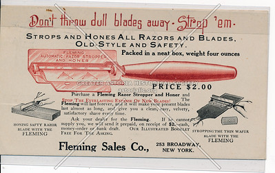 Fleming Sales Co, 253 B'way, NY