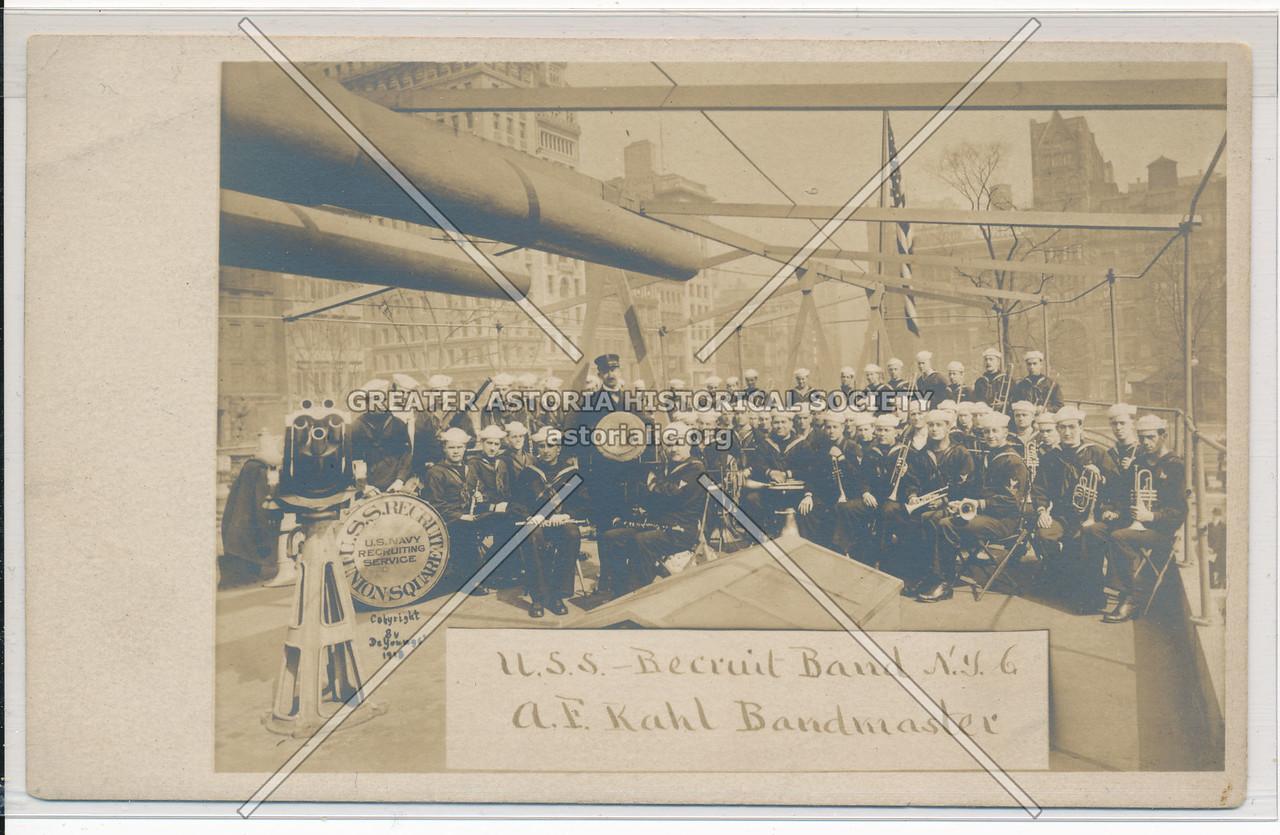 U.S.S Recruit Band N.Y.C.