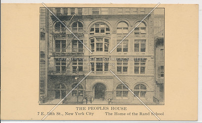 The Peoples House, 7 E 15 St, NY