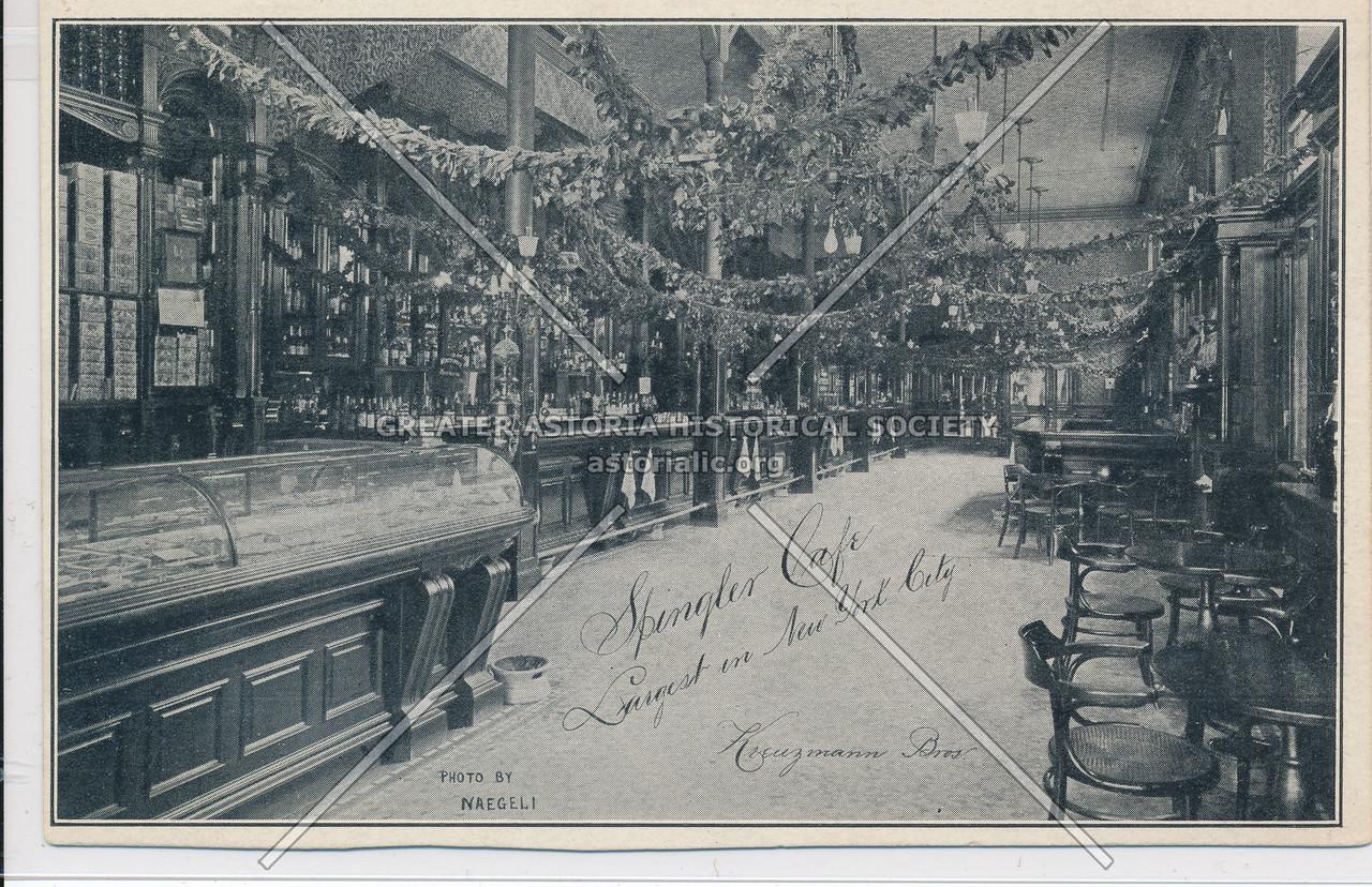 Spingler Café, 14th St & University Pl, NY