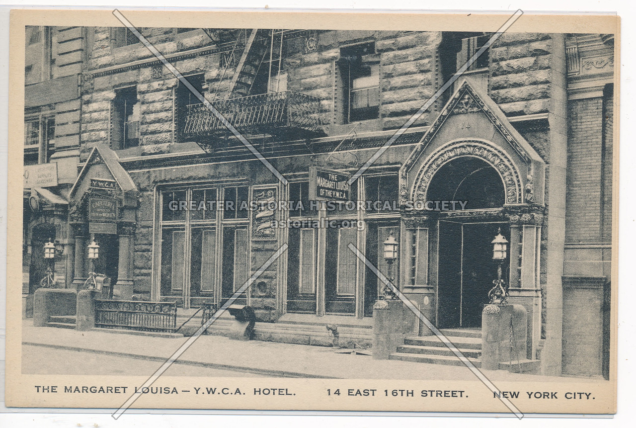 The Margaret Louisa, YWCA Hotel, 14 E 16 St, NY