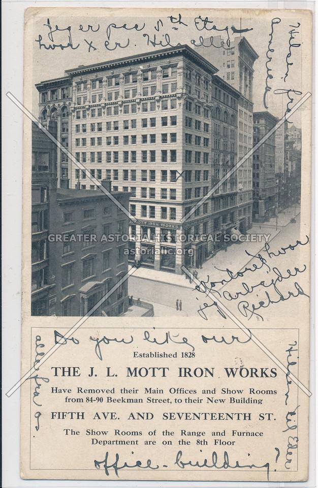 The J. L. Mott Iron Works, 5th Ave & 17th St, NY