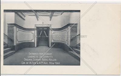 Entrance From Subway, Joe Schmitt's Raths-Keller