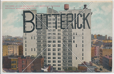 Butterick Building, 161 6th Ave & Van Dam St, NY