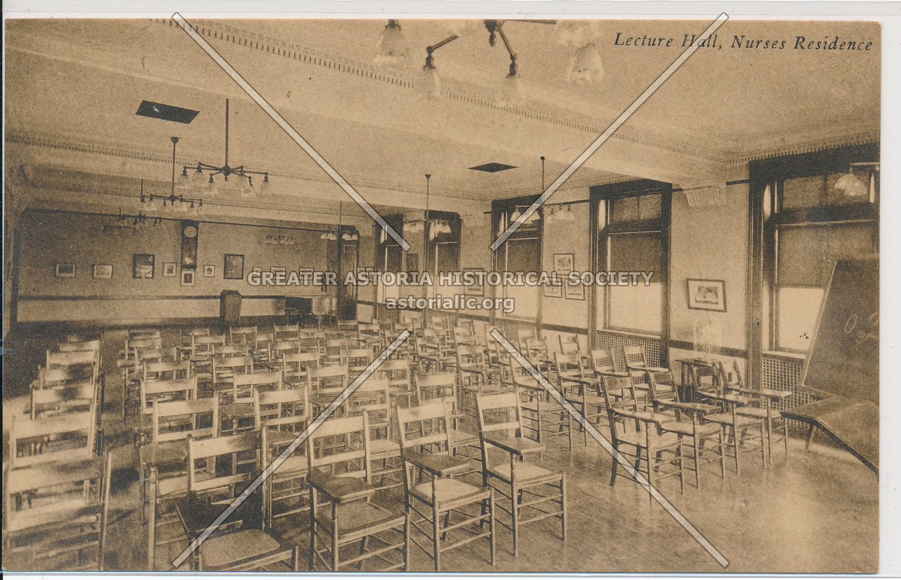 Lecture Hall, Nurses' Residence, Bellevue