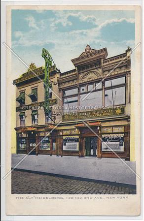 Alt Heidelberg, 130-132  3rd Ave, NY
