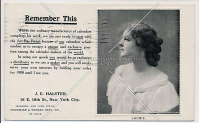 J E Halsted, 16 E 18 St, NY