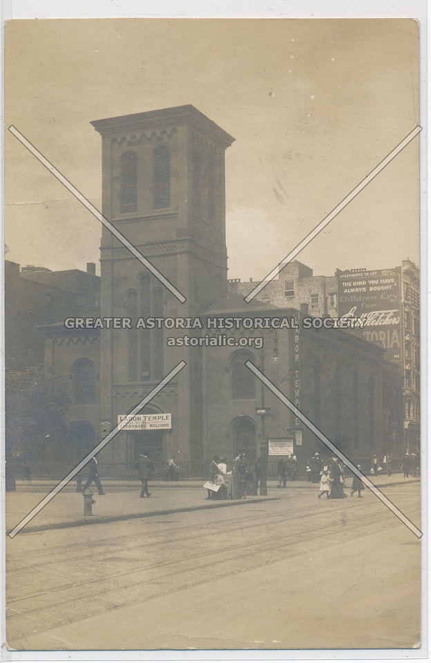 Labor Temple, SW corner of 14th St & 2nd Ave, NY