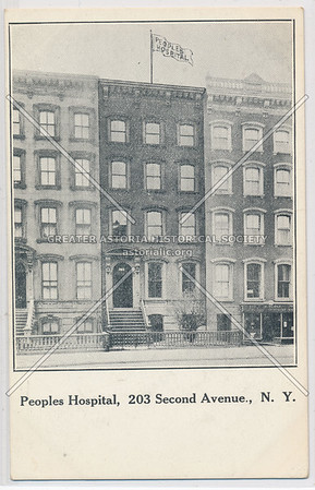 Peoples Hospital, 203 2nd Ave, NY