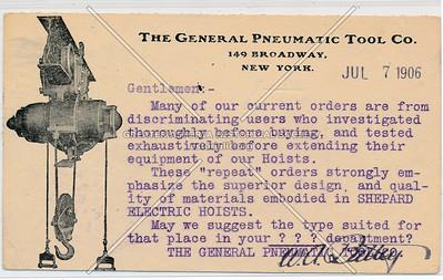 General Pneumatic Tool, 149 Broadway, NY