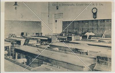 Cooper Union - Class in Stenography