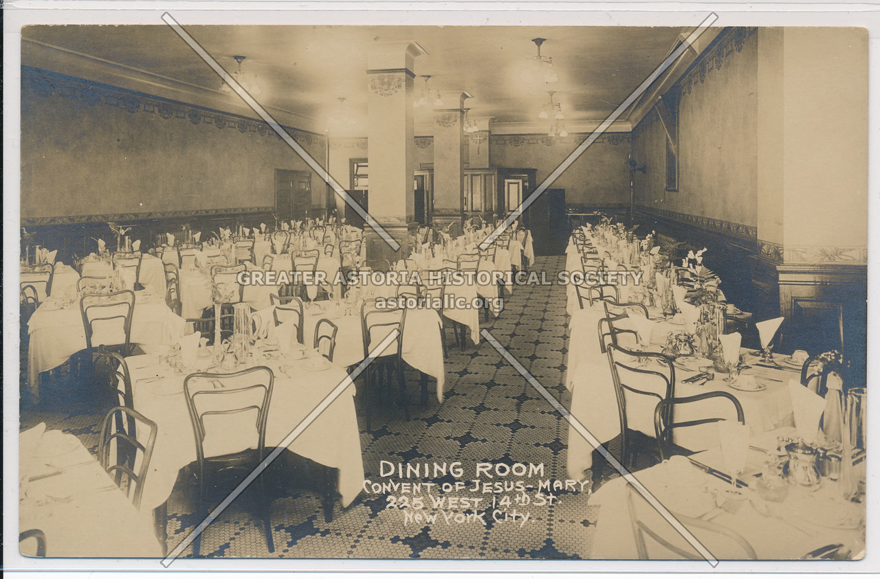 Convent of Jesus-Mary, 225 W 14th St, NY Dining Room