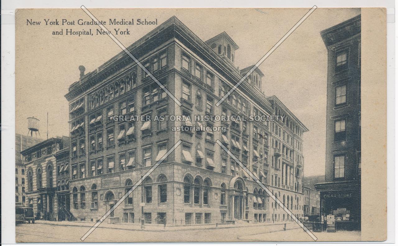 NY Post Graduate Medical School and Hospital, New York