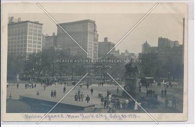 Union Square, NY  1912
