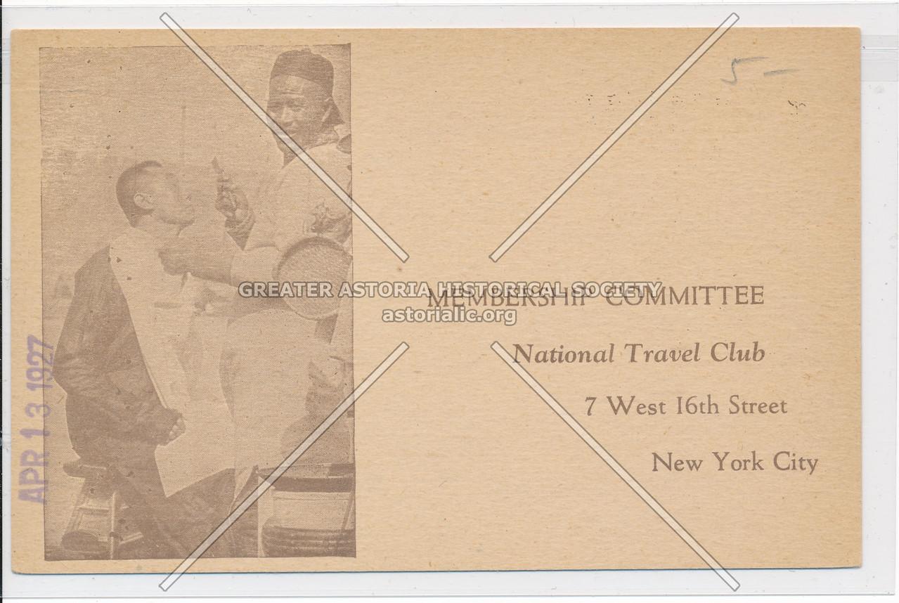 National Travel Club, 7 W 16 St, NY