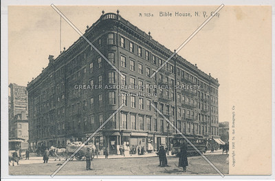 The Bible House, NY, East 9 St