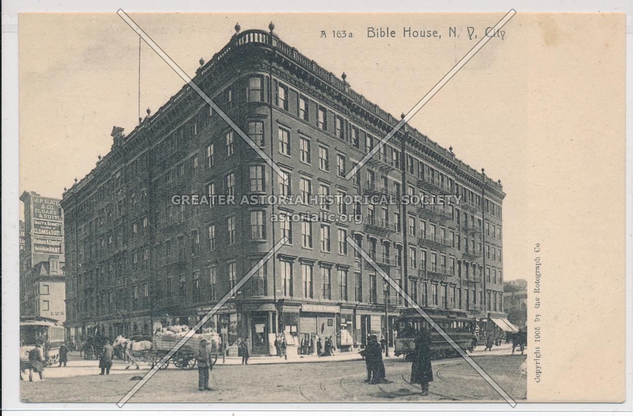 The Bible House, NY