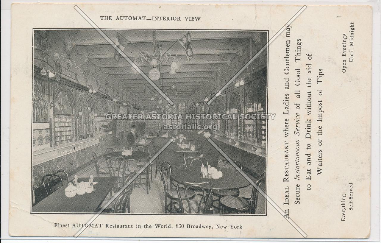 Automat, 830 Broadway, NY