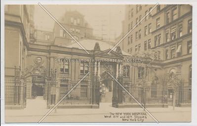 New York Hospital, W 15th & 16th St, NY