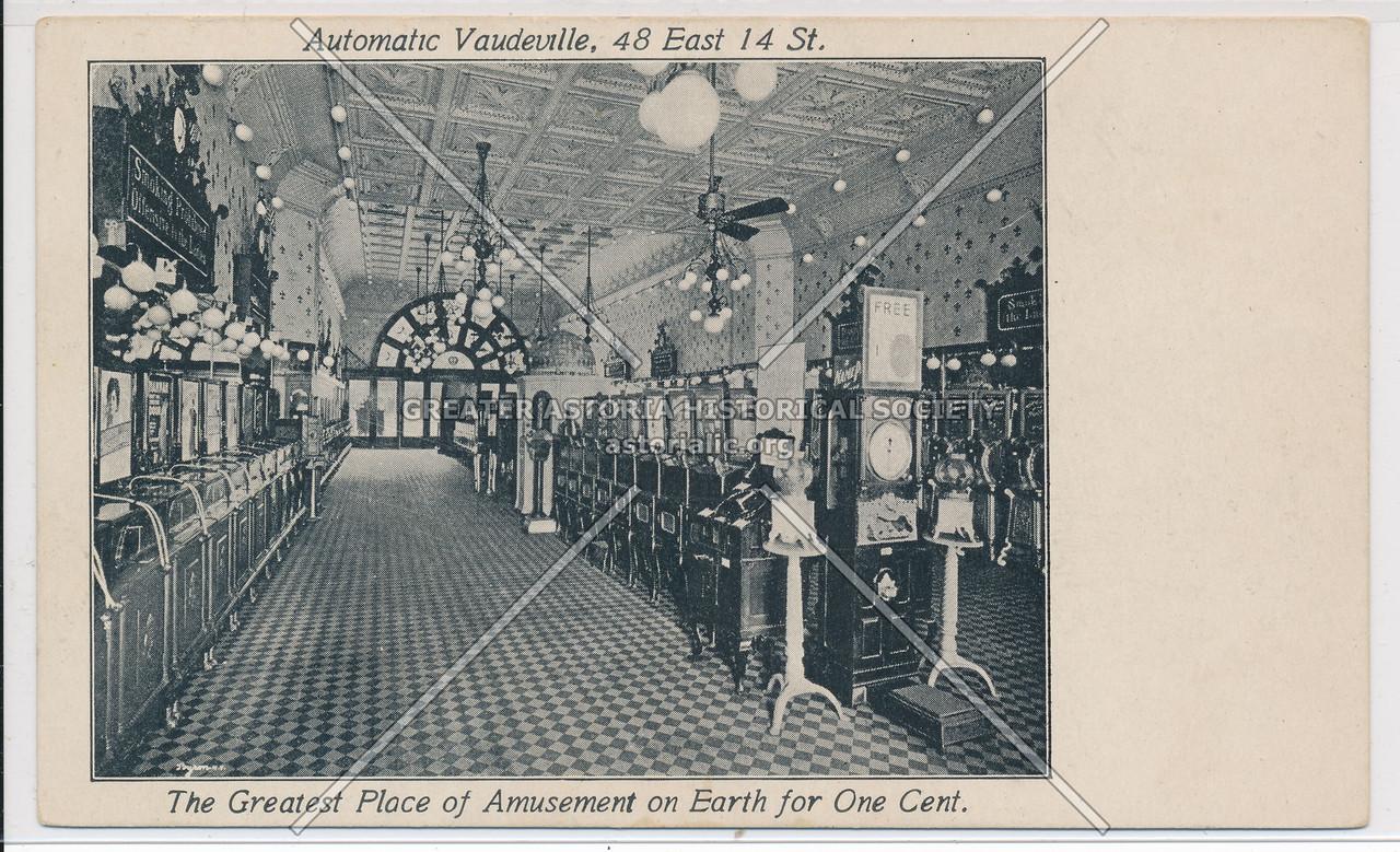 Automatic Vaudeville, 48 East 14 St, NY