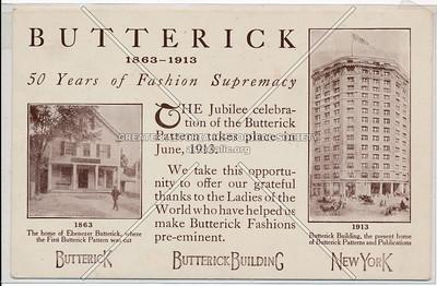 Butterick 50th Anniversary