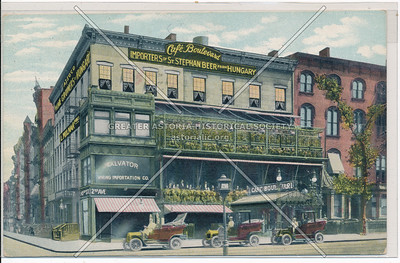 Café Boulevard,  2nd Ave & 10 St, NY