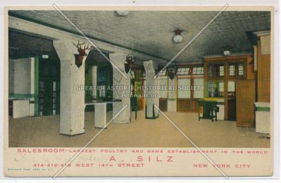 A. Silz, 414 West 14th St, NY