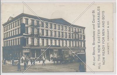 Hackett, Carhart, Co, B'way & Canal, NY