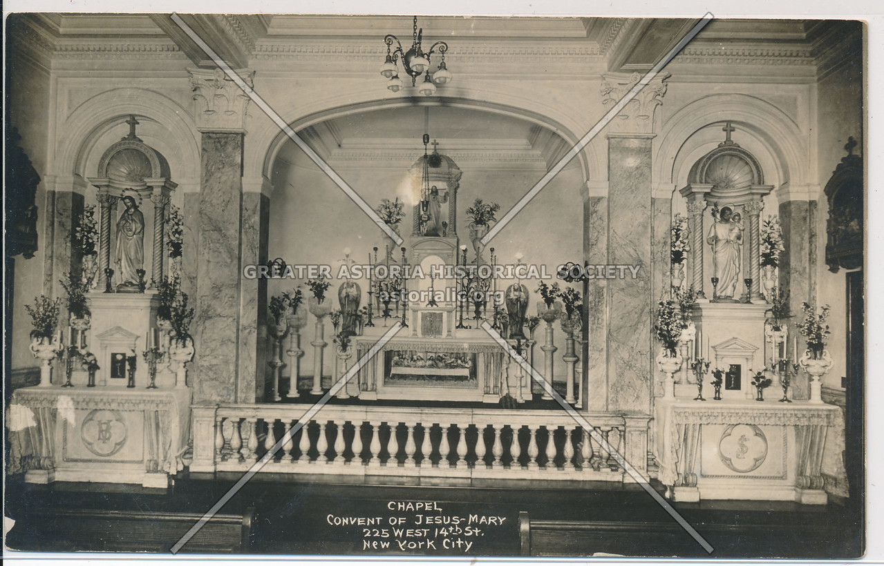 Convent of Jesus-Mary, 225 W 14th St, NY Chapel