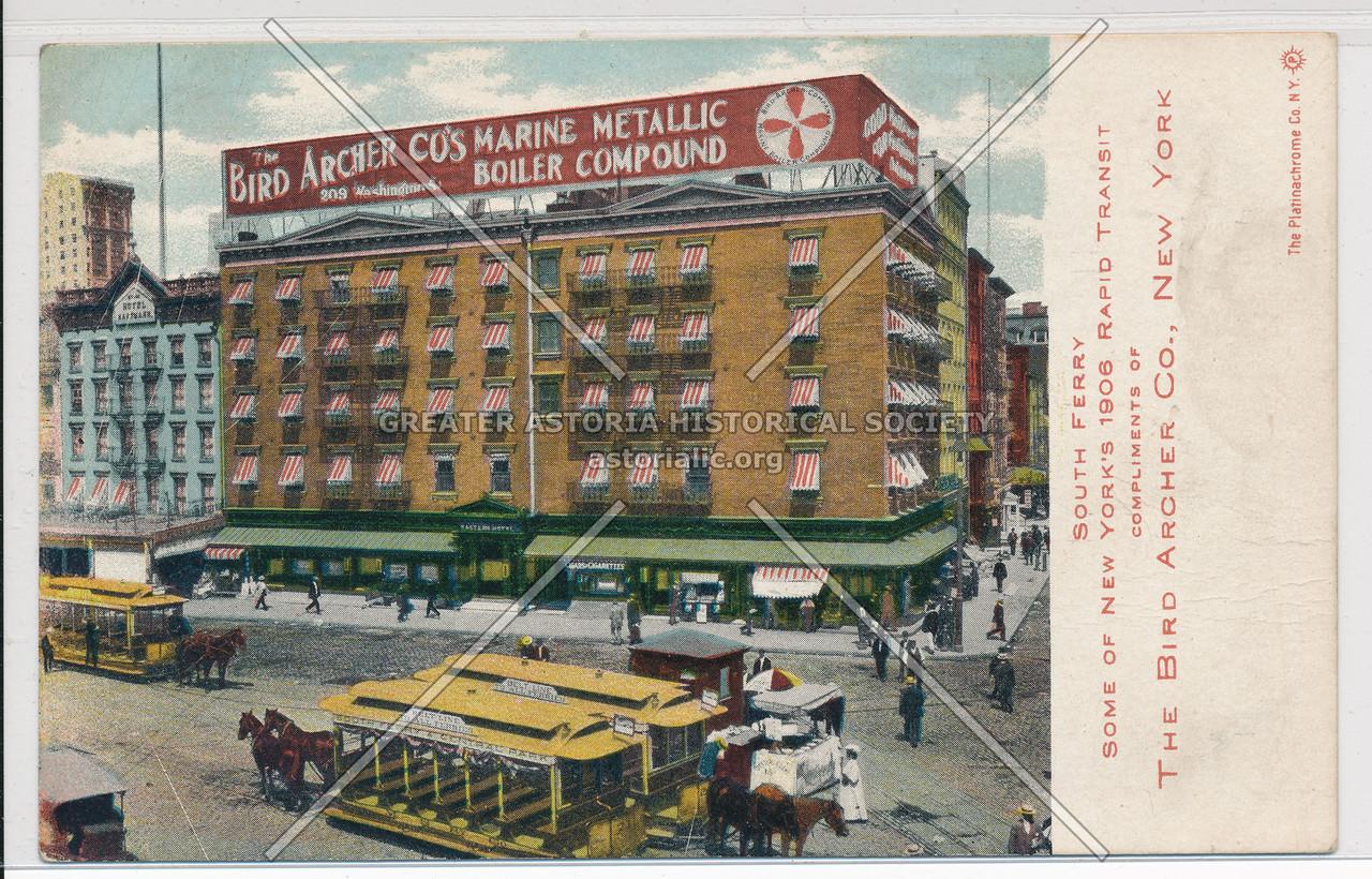 The Bird Archer Co, 209 Washington St, NY
