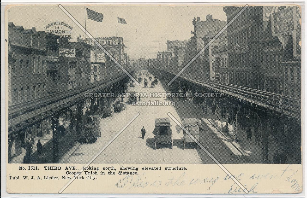 Bowery (mislabeled 3rd Ave) NY