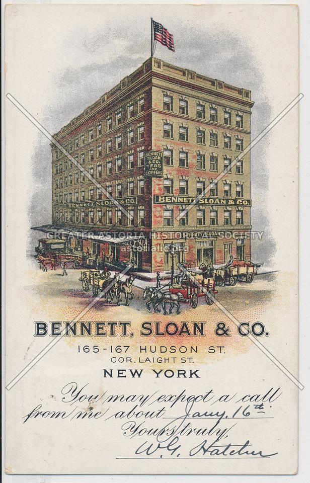 Bennett, Sloan & Co. 165-167 Hudson St, NY