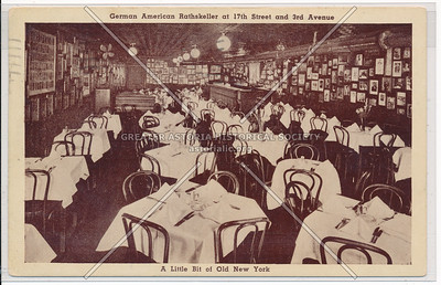 German American Rathskeller at 17th St & 3rd Ave, NY