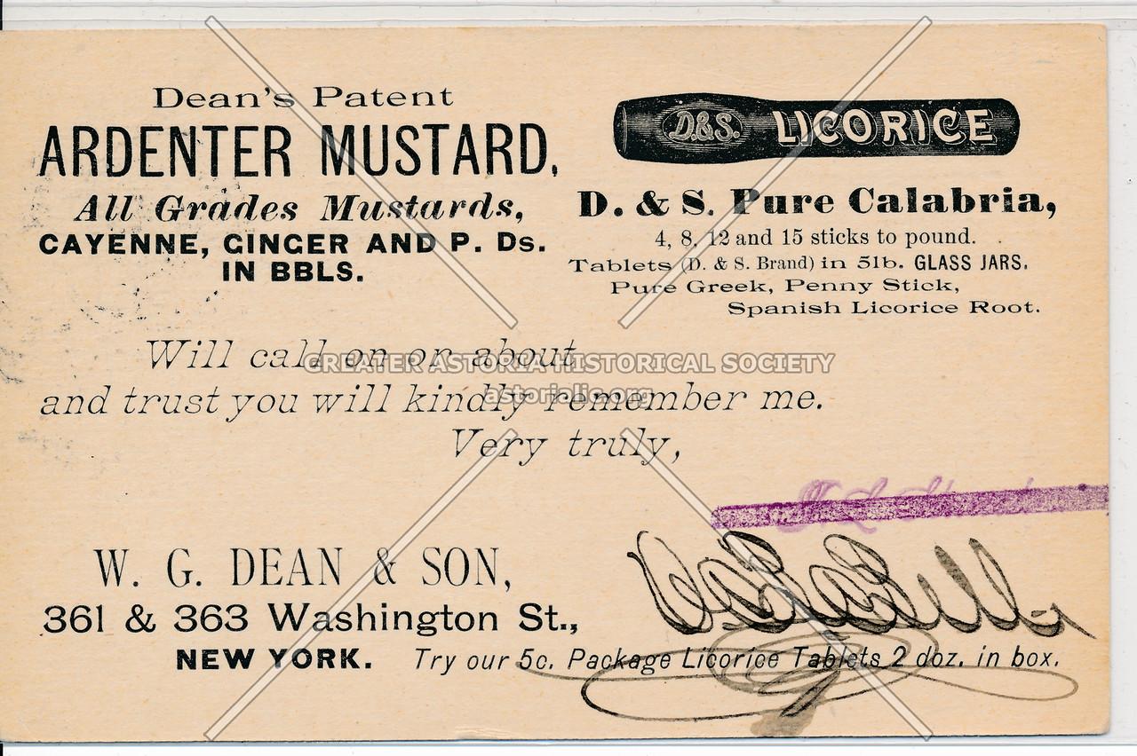 Ardenter Mustard, 361 Washington St, NY