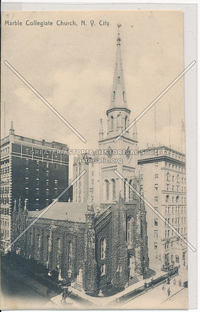 Marble Collegiate Church, 5th Ave & 29th St, NYC