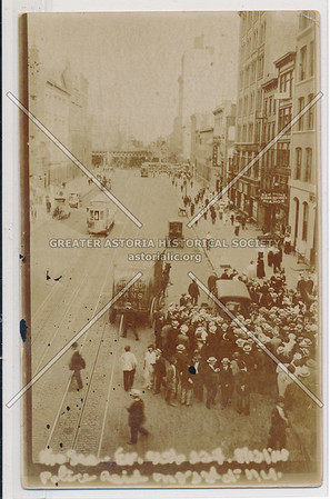 Police Raid, 28 Union Sq East? 1908