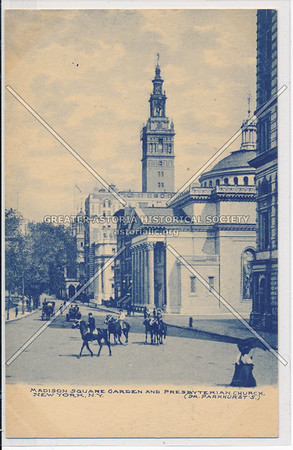 Madison Square Garden and Presbyterian Church