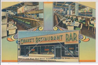 Drake's Restaurant Bar, 116 W 32 St,  NYC