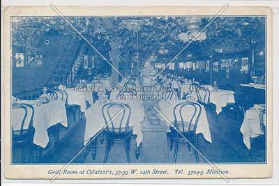Grill Room - Colaizzi's, 37 W 24th St, NY